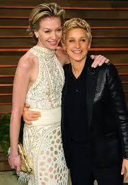 Ellen And Portia Inside Ellen Degeneres And Portia De Rossis Epic Blowup In