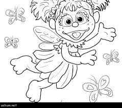 Sesame Street Alphabet Coloring Pages Sesame Street Printable