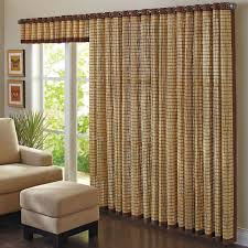 image of bamboo curtain panels attention