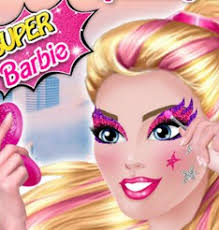 barbie winter makeup in paris