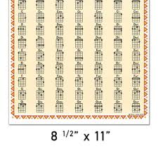 Banjo Chord Chart For G D G B D Music Go Round St Paul