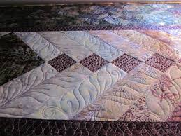 12 best french braid quilts images on Pinterest | Braid quilt ... & french braid quilts | leaves in the braids, pebbles in the small diamonds Adamdwight.com