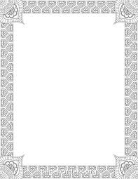 Word Border Templates Free Free Printable Borders In Word Download Them Or Print