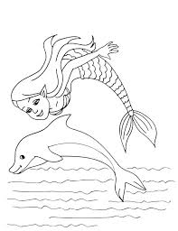 Mermaid Coloring Pages Printable Free Little 2 Haljinezamaturu