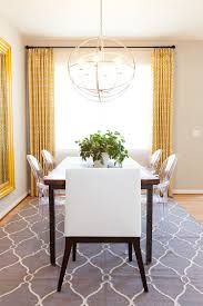 rug for dining room. dinning rooms:small dining room with grey modern morrocan rug and wood table also for