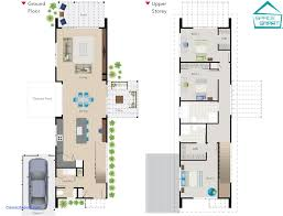 modern small home plans lovely apartments small narrow house plans a narrow two story space