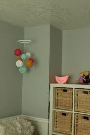 colorful diy nursery mobile