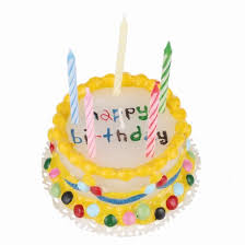 Wax Birthday Cake Novelty Birthday Candles Find Me A Gift