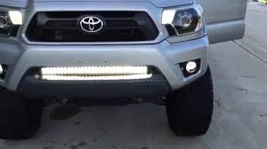 Morimoto XB LED Fog Lights Toyota Tacoma Fogs - YouTube