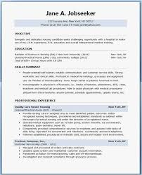 Student Resume Example Best Resume Examples For Nursing Students New Example Student Nurse