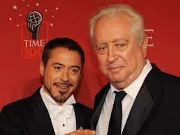 Robert Downey Jr pays tribute to father ...