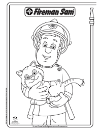 Small Picture Original Fireman Sam Elvis Coloring Pages At Luxurious Article