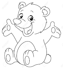 Baby: Baby Bear Coloring Pages