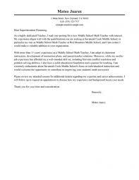Cover Letter Sample Teaching Job