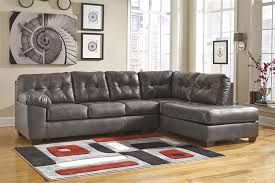 Alliston Gray Right Arm Facing Chaise Sectional by Ashley Furniture
