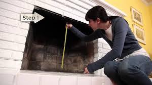 installation pleasant hearth fireplace glass door