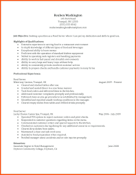 Waiter Resume Sample resume Sample Waiter Resume 32