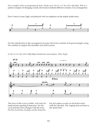 Inside The Big Band Drum Chart Inside The Big Band Drum Chart Steve Fidyk Noten Für