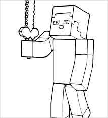 Minecraft Steve Printable Coloring Pages Coloring Page