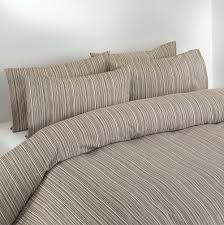 beige and brown duvet covers