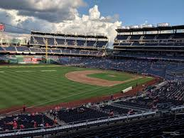 Nationals Seating Chart With Row Numbers Nationals Park Section 203 Washington Nationals