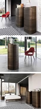 Livitalia Hochkommode Round Look Furniture Wood Design Bedroom