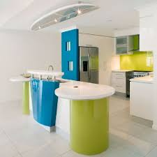 funky house furniture. kitchen layout and furniture in fun funky beach house design with full colour
