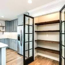 open wood shelves kitchen pantry with stacked reclaimed shelf vanity wall for white