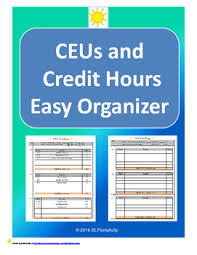 Asha Ceu Conversion Chart Ceu Worksheets Teaching Resources Teachers Pay Teachers
