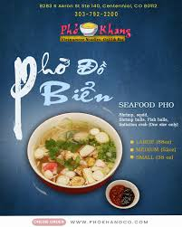 Cost $10 for two people (approx.) products for businesses we're hiring. Pho Khang Centennial Co 80112 Menu 169 Reviews And Photos Restaurantji