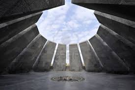 citizen reporter the acirc white genocide acirc in a national tsitsernakaberd memorial in yerevan ldquo
