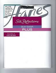 Hanes Silk Reflections Plus Petite Sheer Control Top