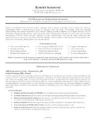 Sourcing And Procurement Sample Resume