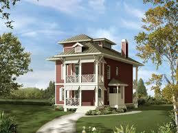 weintraub narrow lot home plan 056d 0006 house planore