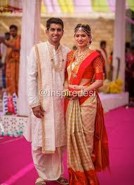 Indian Dresses South Indian Bride And Groom
