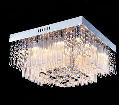 contemporary ceiling lighting. Saint Mossi Chandelier Modern K9 Crystal Raindrop Lighting Flush Mount LED Ceiling Light Fixture Pendant Lamp For Dining Room Bathroom Bedroom Contemporary