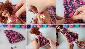 Diy/ strumpfhosen für barbie puppen zum selber nähen aus einer socke und das ganz ohne schnittmuster. Diy Barbie Kleidung Mit Ohne Nahen Einfache Anleitungen Fur Puppen