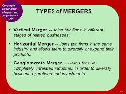 Vertical Merger Example Mergers Mint Body Com