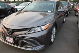 New 2018 Toyota Camry XLE V6 4dr Car in San Jose #C180347 ...