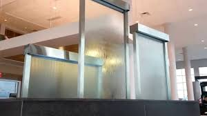fullsize of interesting custom water wall feature glass waterfall walls you full size home design glass