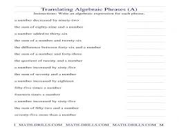 writing algebraic equations from word problems worksheet 11 unique algebra word problems worksheet of 11 free
