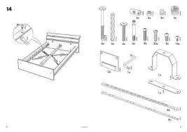 IKEA HOPEN BEDFRAME Furniture manual for free now