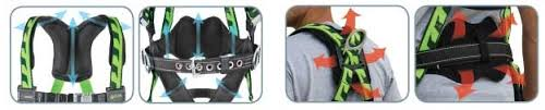 Miller Honeywell Ac Tb D Ugn Aircore Safety Harness Fall