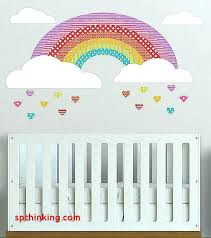 rainbow decal rainbow wall decal wall decals rainbow unique girls rainbow wall decal removable wall decal