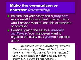 professor nichols comparison contrast essay enc do i want  12 even