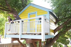 tree house decorating ideas. Paint Or Stain A Treehouse Tree House Decorating Ideas D