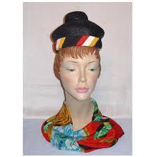 Hat Designer Lilly Vintage 1960s Lilly Dache Straw Dachettes Hat