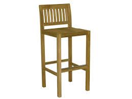 wooden garden stool with high back savana garden stool with high back by il giardino