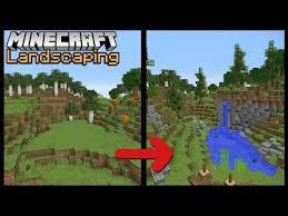 minecraft build school landscaping play