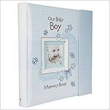 Baby Photo Album Books Our Baby Boy Memory Book Christian Art Gifts 9781770364189 Amazon